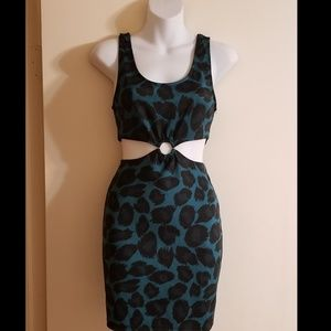 Forever 21 animal print dress!